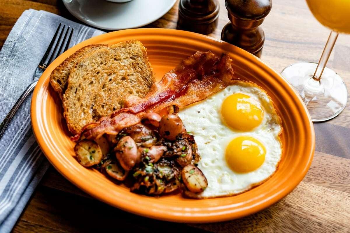 NoPo Plate off NoPo Café, Market & Bar's Breakfast Menu.
