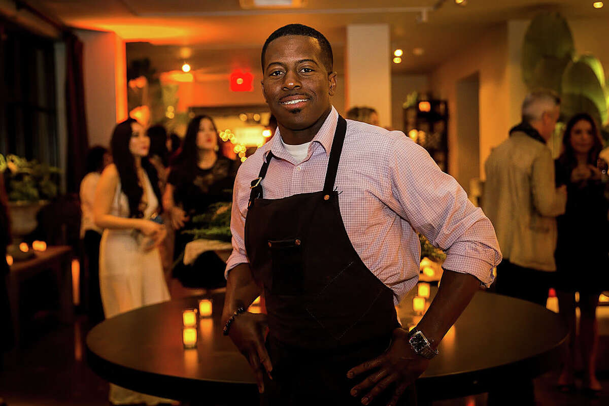 Edouardo Jordan poses for a photo at the opening night unveiling of RH Seattle, The Gallery at University Village on November 16, 2016 in Seattle, Washington.