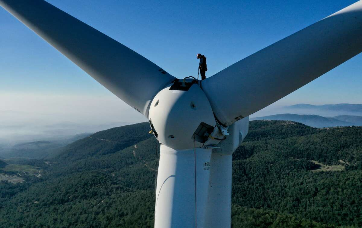 Wind turbine service technician is the projected fastest growing occupation in the United States between 2019-2029. The median salary is $56,230.
