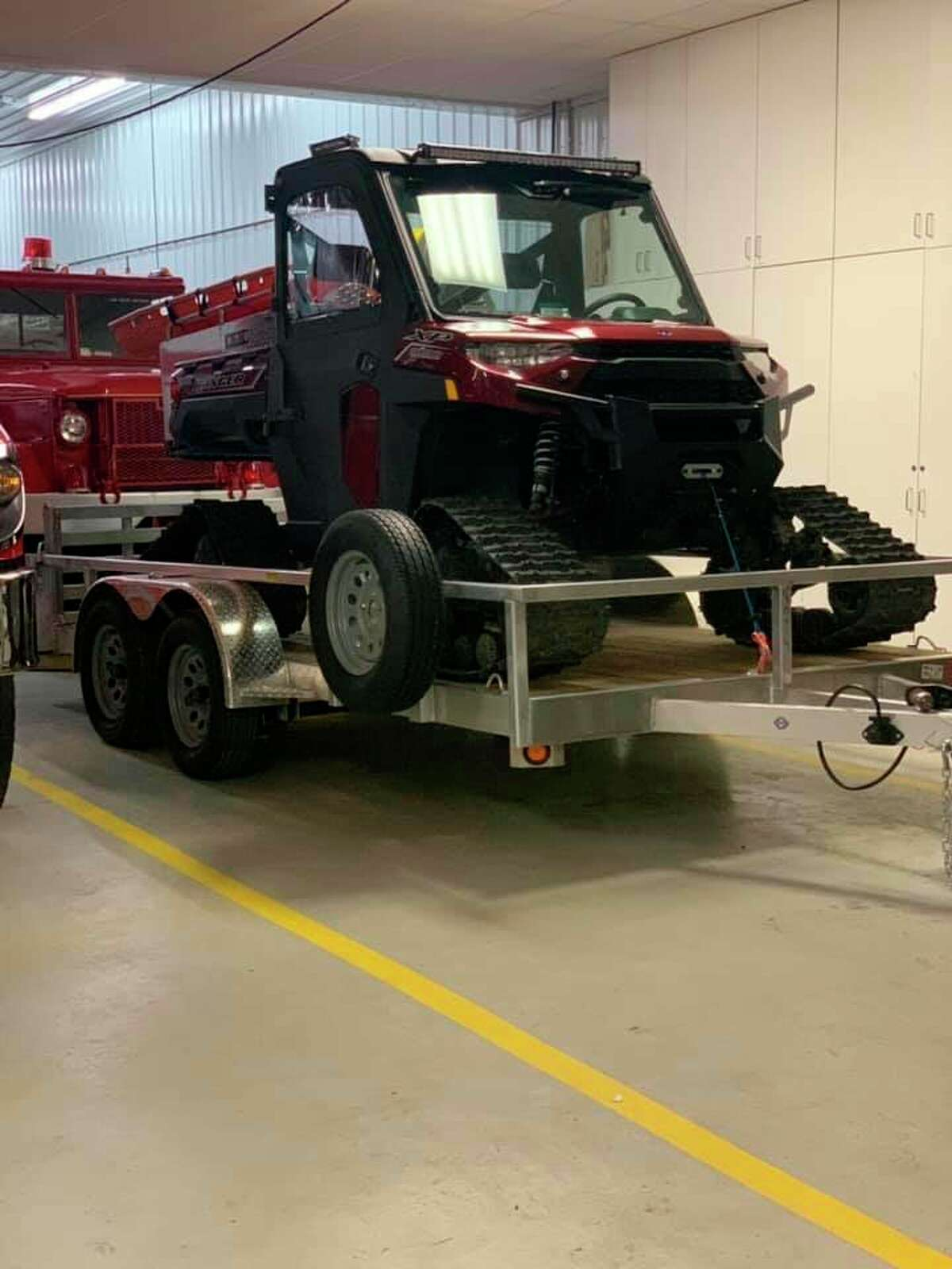 The Billings Township Fire Departmentacquired a new firefighting vehicle, a side by side. (Photo provided)
