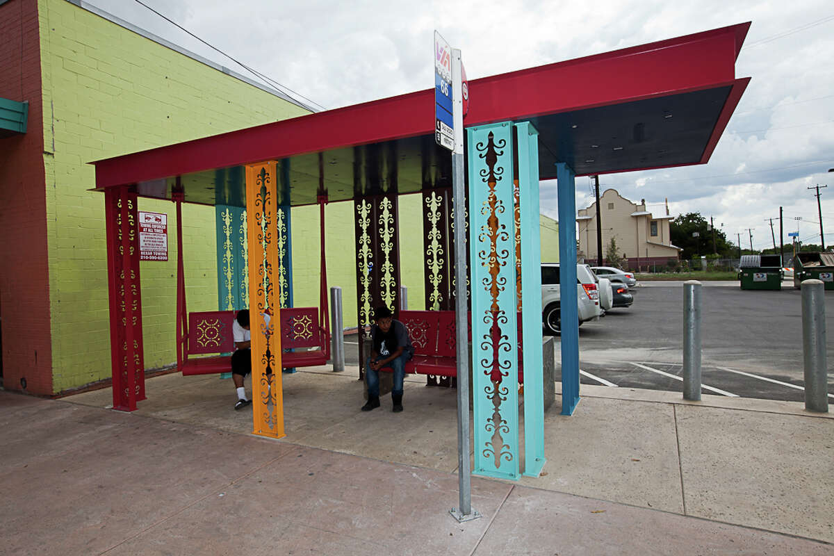 Urban Porch is located on the intersection of 700 block S. Brazos and San Fernando streets.