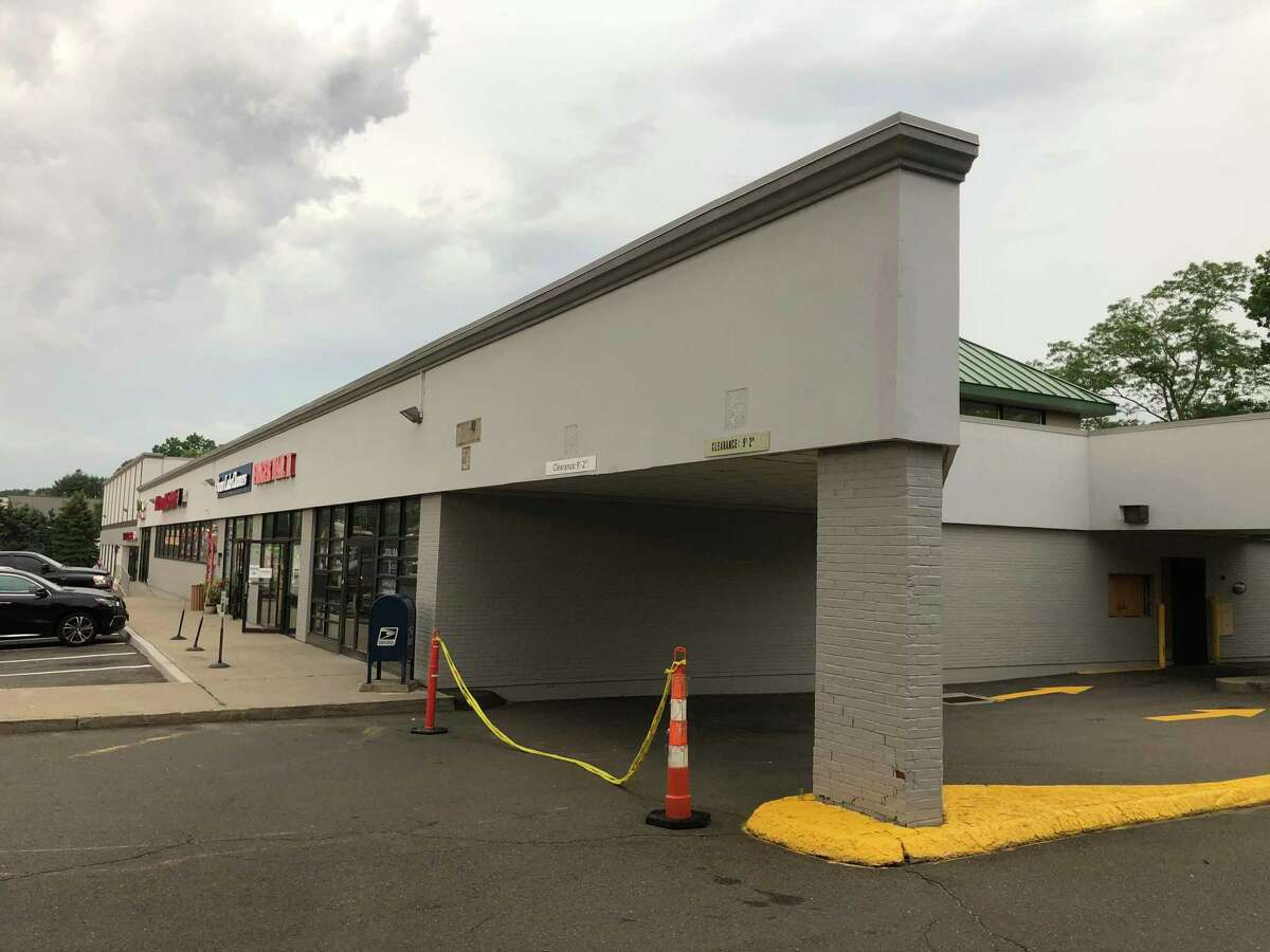 A vacant building at 295 Westport Ave on Tuesday in Norwalk. A developer hopes to transform the building into Connecticut's first Jimmy John's location.