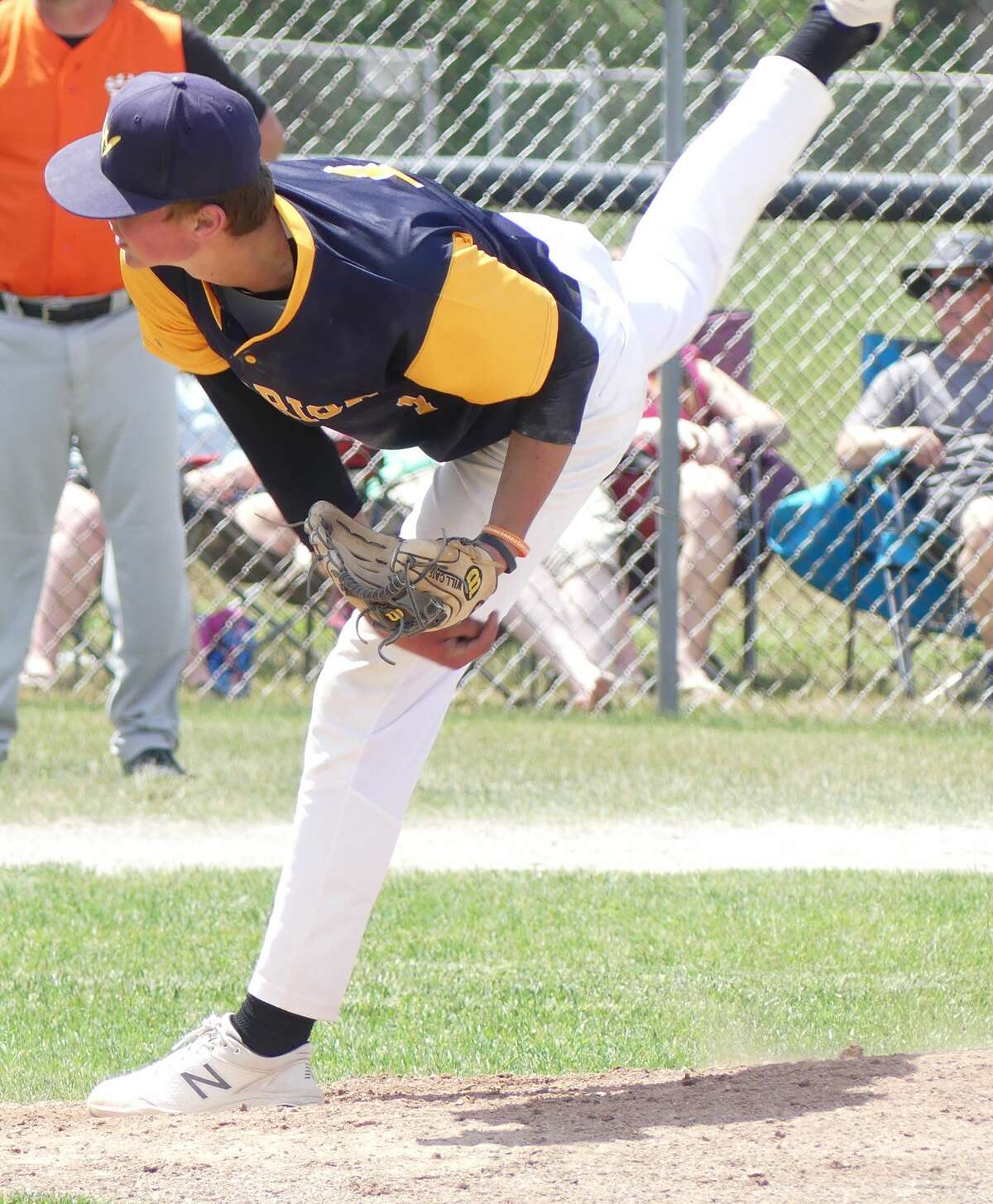 The Harbor Beach Pirates beat North Huron, 13-1 to capture the District 111 baseball championship on Saturday at Ubly High School. The Pirates will take on Marlette in the regional semifinals on Wednesday, June 9, at Kingston High School. First pitch is scheduled for 4 p.m.