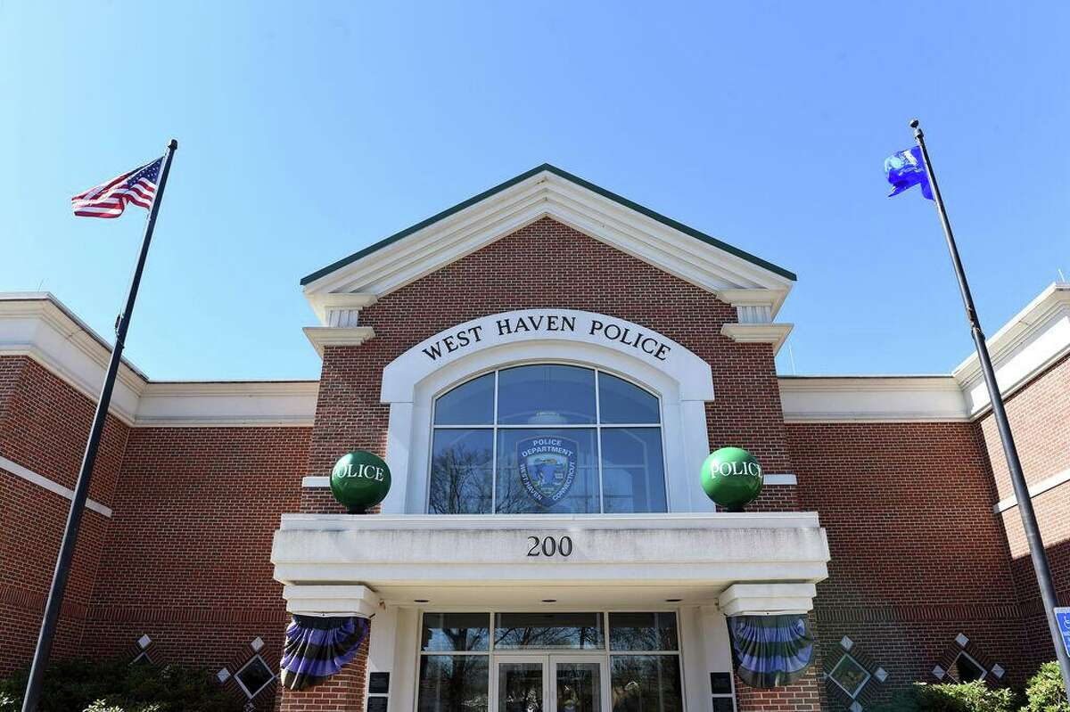 The West Haven Police Department photographed on April 16, 2019.