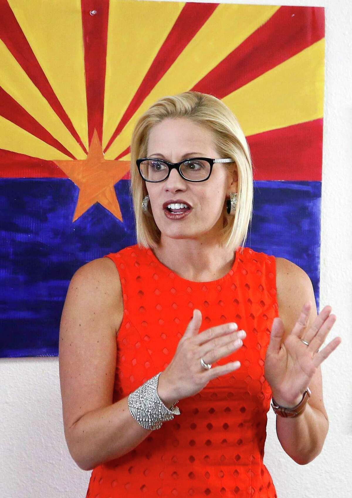Somehow, we have gotten ourselves in a perverse situation where Kyrsten Sinema rules the world.