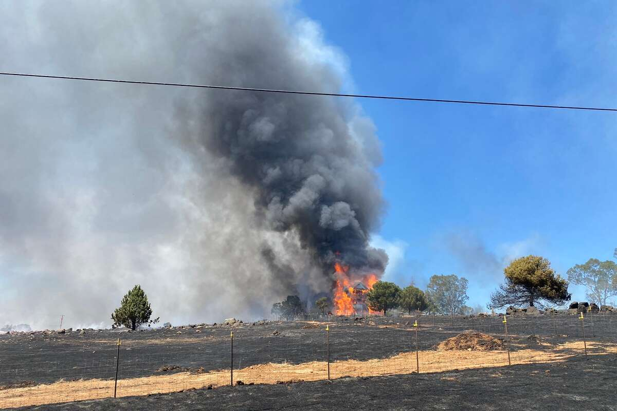 The Intanko Fire broke out on June 8, 2021, at Intanko and Kapaka lanes northeast of Wheatland.