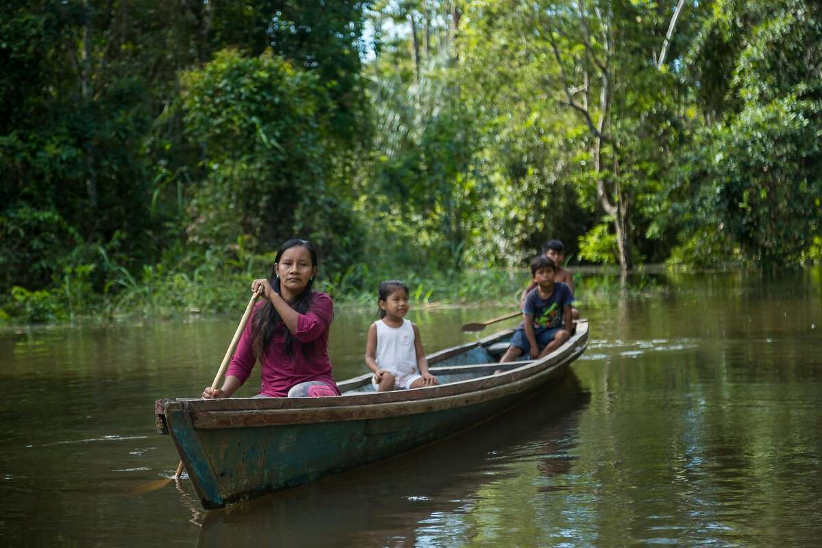 Embargoed until June 16, 2021: The winners of the 2021 Goldman Environmental Prize in 2021 include Liz Chicaje Churay, 38, a member of the Indigenous Bora community in Peru who protected more than two million acres of the Amazon Rainforest and established a major new national park in Peru.