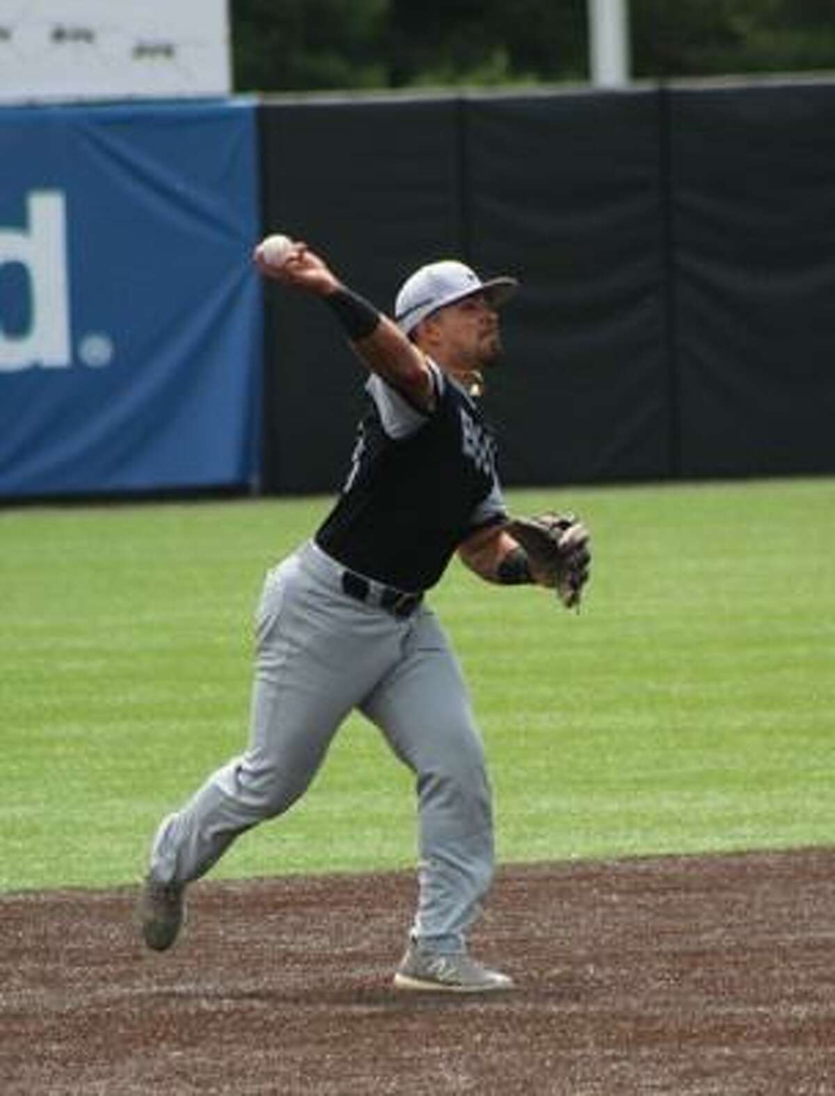 Sergio Macias recorded a .909 fielding percentage at shortstop and led Central Methodist in batting average, hits, doubles and RBIs.