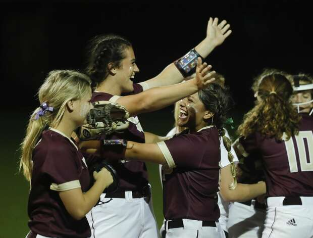 Deer Park players celebrate after their 2-0 win over Flower Mound in their Class 6A state semifinal game, Friday, June 4, 2021, in Leander. Photo: Jason Fochtman/Staff Photographer / 2021 ? Houston Chronicle