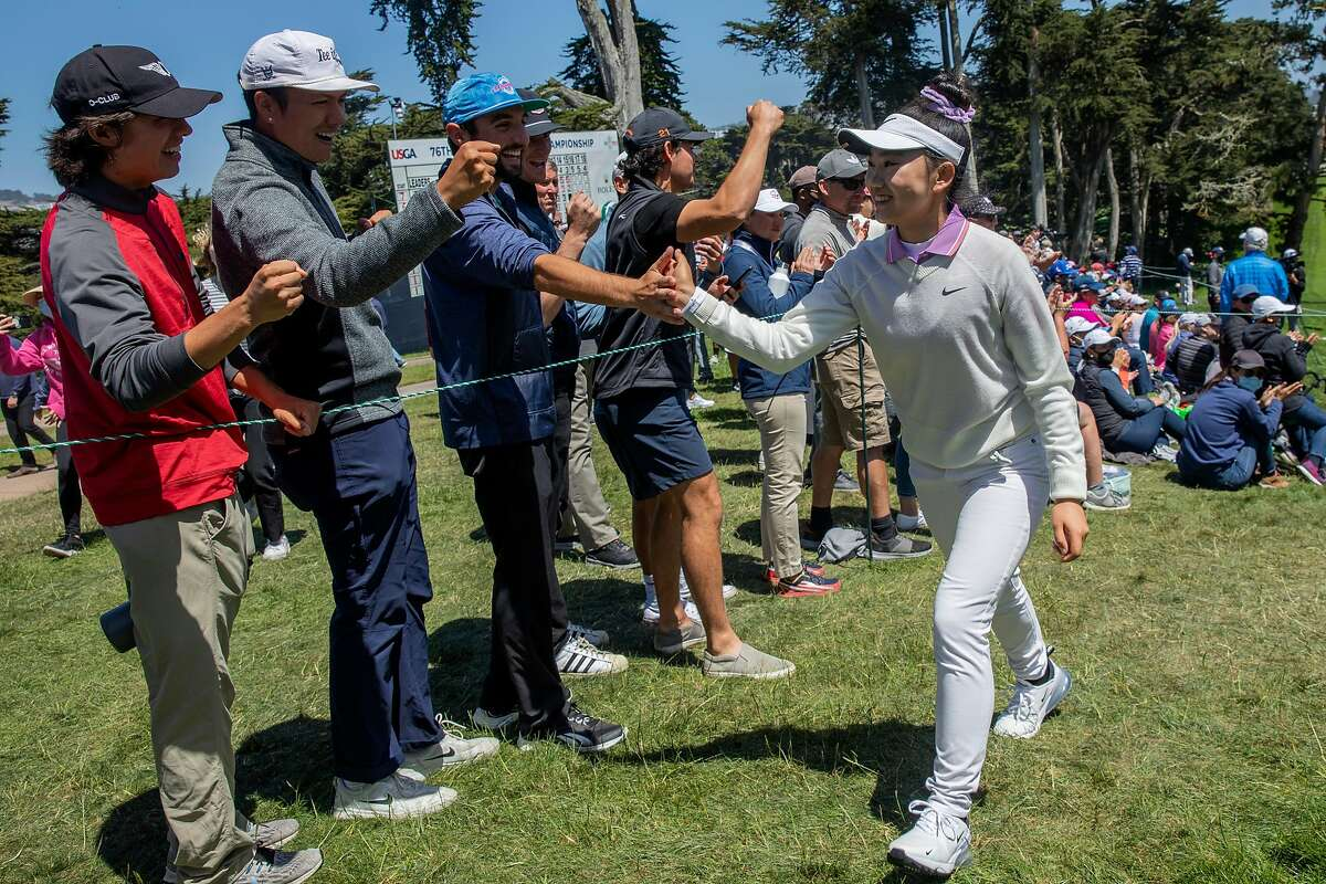 Redwood City's Lucy Li, who tied for 16th in the U.S. Women's Open, also is playing in this week's LPGA event at Lake Merced Golf Club in Daly City.