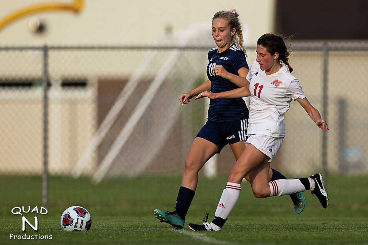The Bad Axe girls soccer team advanced to the Region 15 championship game with a 5-3 semifinals victory over Marine City Cardinal Mooney at Saginaw Valley Lutheran High School on Tuesday night. The Hatchets (20-1-1) will face Laingsburg (17-2-2) at 5 p.m. Thursday at Saginaw Valley Lutheran for the regional title.