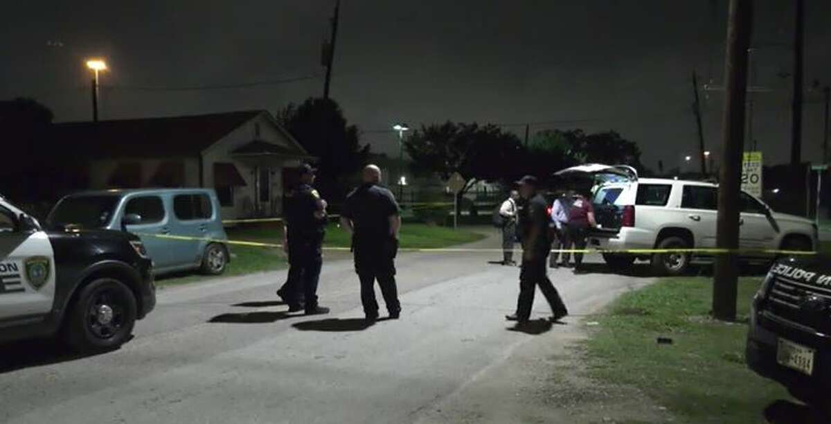 Police investigating a fatal shooting early Wednesday in Houston's Fifth Ward.
