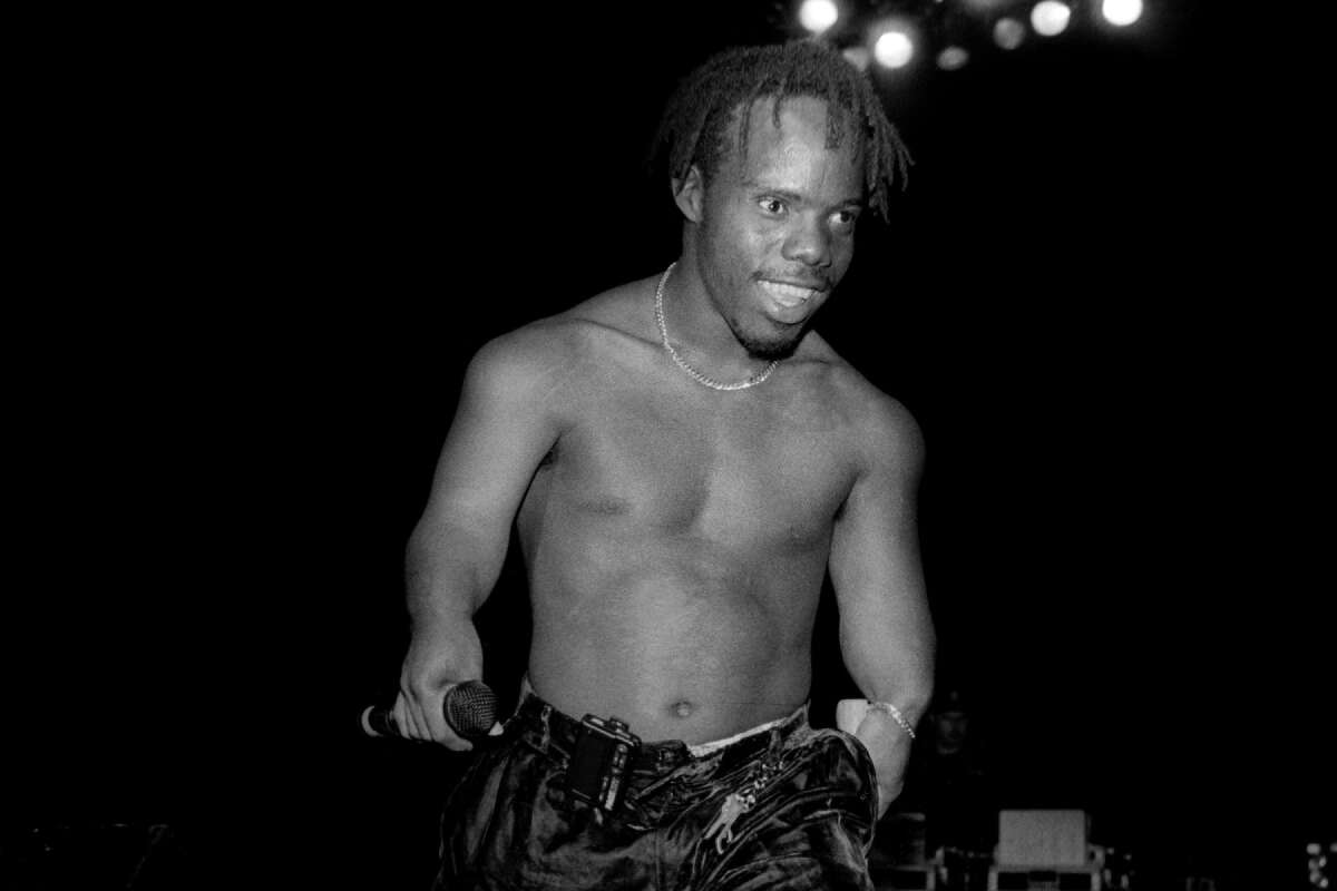 Rapper Bushwick Bill from The Geto Boys performs at the New Regal Theater in Chicago, Illinois in July 1992. (Photo By Raymond Boyd/Getty Images)