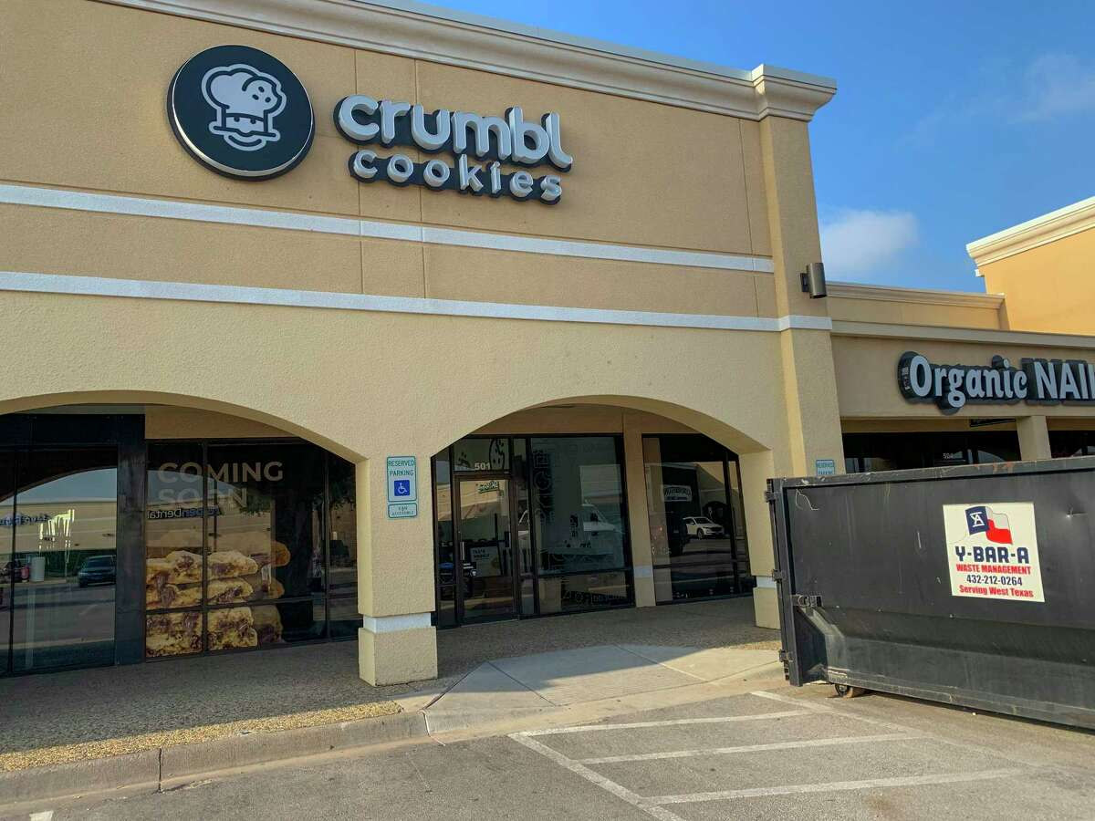Construction of Crumbliest Cookie as seen Wednesday, June 9, 2021 at 4400 Midland Dr. Suite 501. Jacy Lewis/Reporter-Telegram