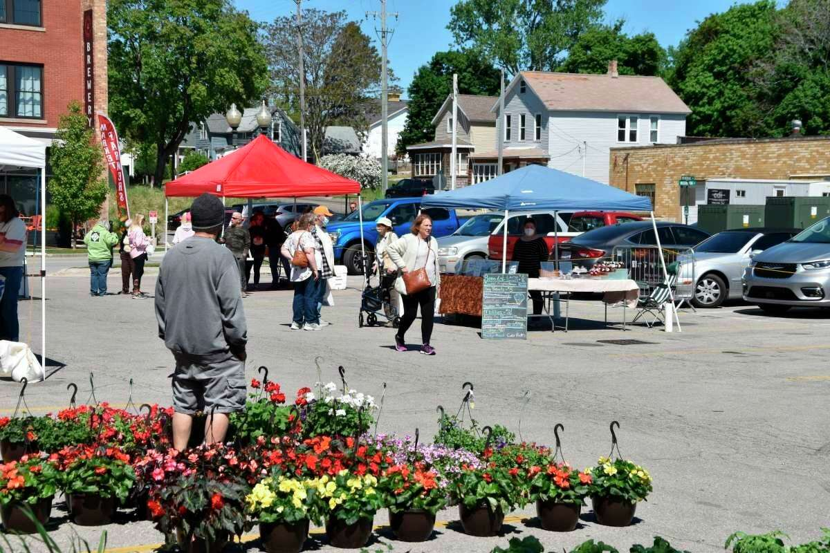TheManistee Farmers Market is one of the summerlong events taking place in Manistee County this season. The market is scheduled to run through Oct. 2 at Veterans Memorial Park, in Manistee.(File photo)