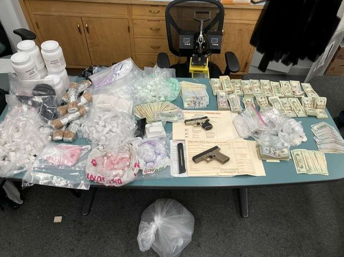 The San Francisco Police Department seized more than 30 pounds of drugs in Oakland on June 3.