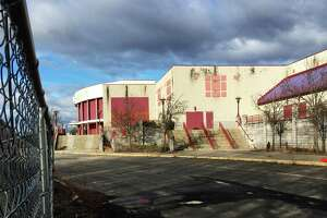 The old Showcase Cinemas in East Windsor in 2018. The Mashantucket Pequot and Mohegan tribes planned a casino at the site to battle MGM Springfield but the plan died.
