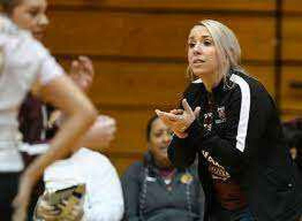 Former Friendswood standout Jamie Gill has been named Pearland High School's new volleyball coach. (Annie Rice/Corpus Christi Caller-Times)