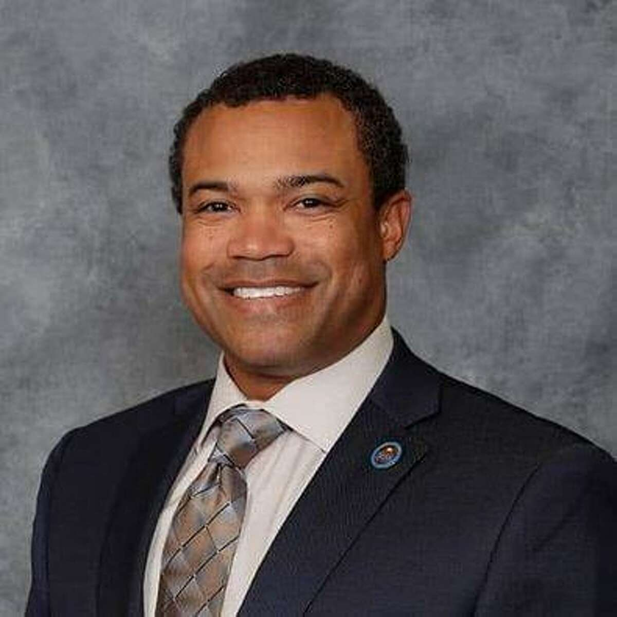 """New Alvin ISD trustee Albert """"A.J."""" Johnson III says teamwork will be just as crucial for the school board as it was for teams he played for in professional football."""