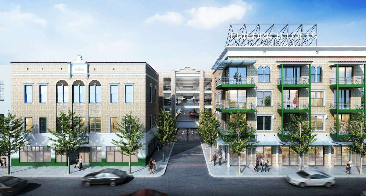 A rendering of the Friedrich Lofts development, which would include 358 apartments.