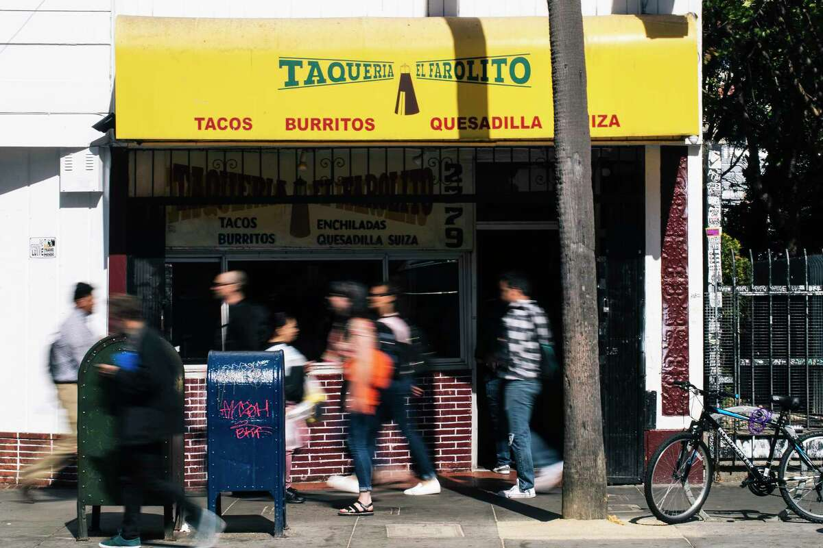 El Farolito, a family-run taqueria with 11 locations, has been banned from opening a proposed 12th site in North Beach on Grant Avenue under a San Francisco law that prohibits chains.