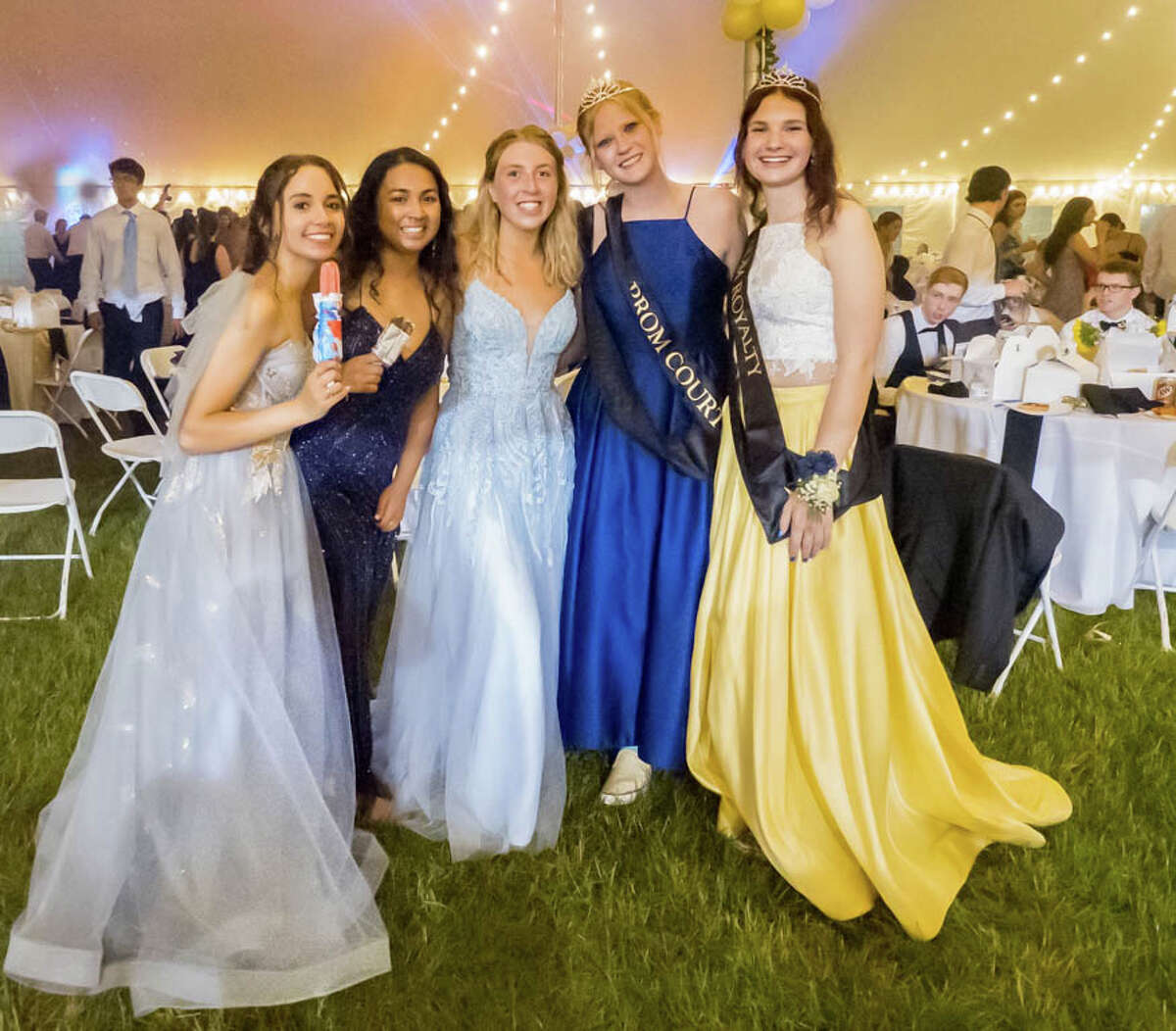 Trumbull High School held its prom under a tent on campus on June 4, 2021. Were you SEEN?