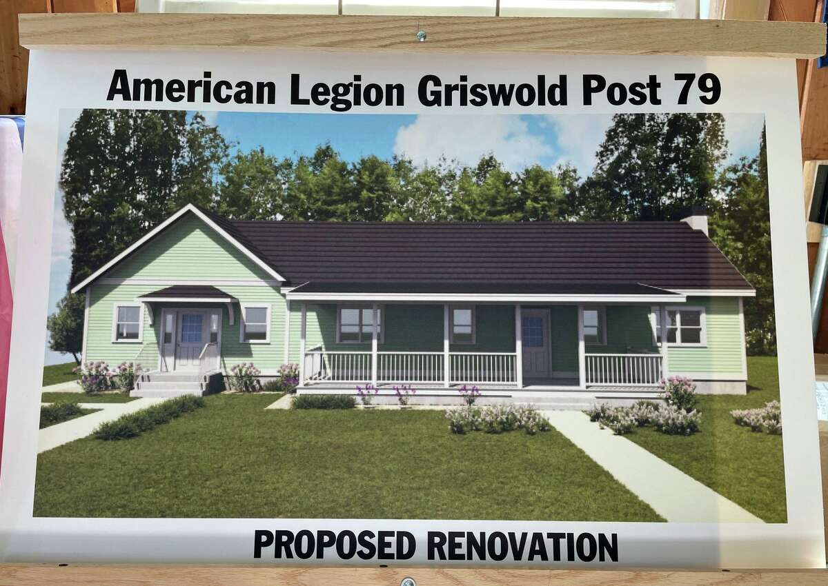 What the new Madison American Legion Hall will look like after renovations.