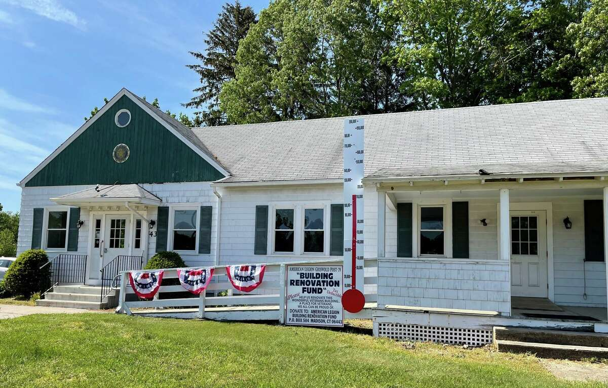 The American Legion, built in 1932, is in great need of renovations.