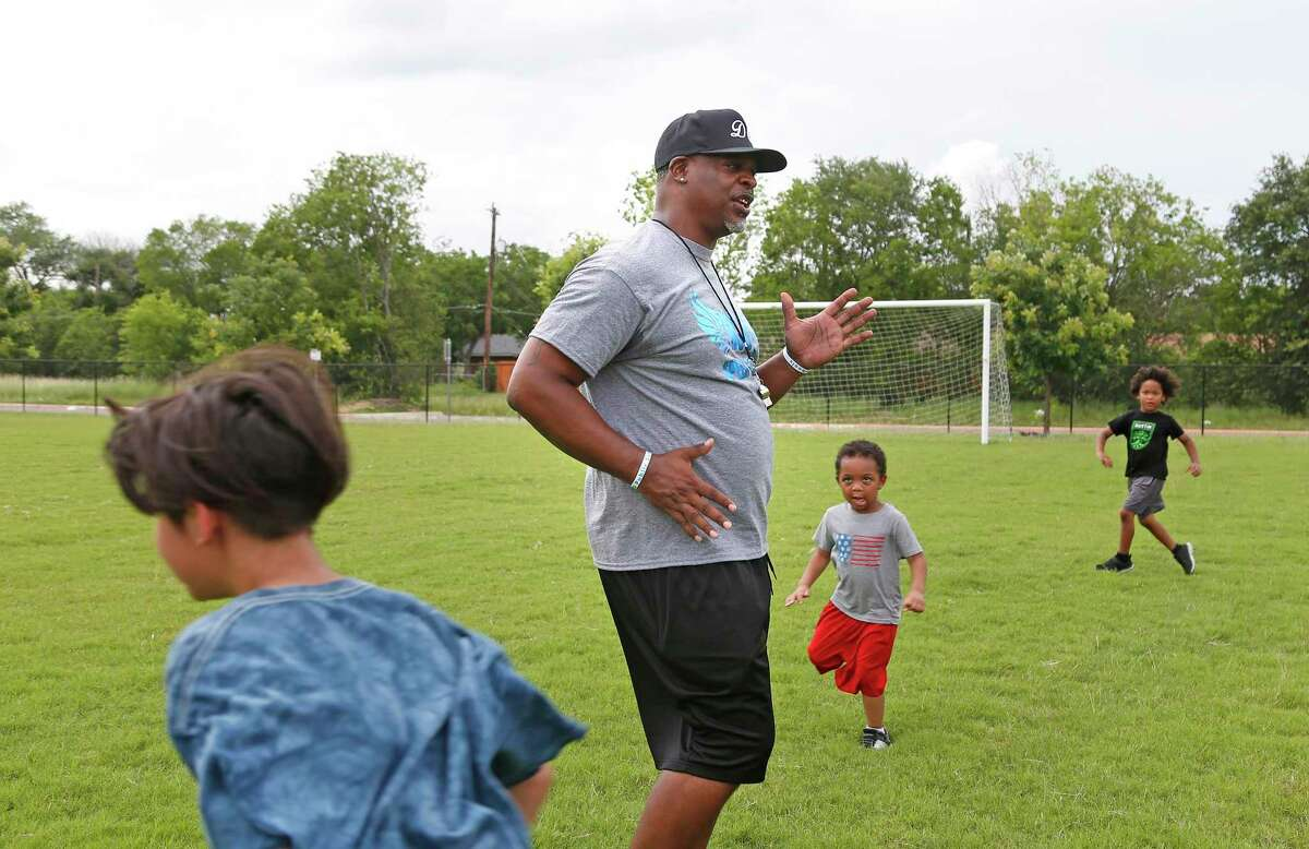 For the past 10 years, physical education teacher Dominic Cameronhas hosted DC Speed Camp, a free 16-week program for kids to work on athletic and agility skills at IDEA Harvey E. Najim charter school.