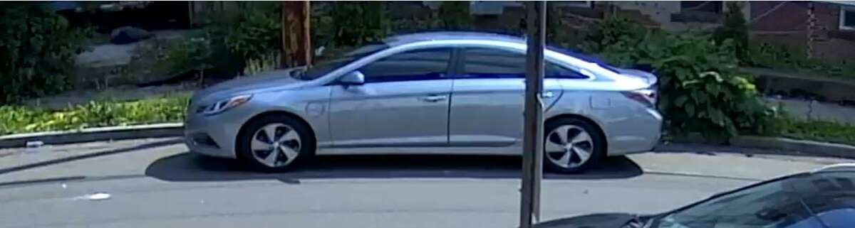 Woodbridge police are looking for help finding this vehicle after a man's body was found on the town athletic fields on Pease Road Tuesday.