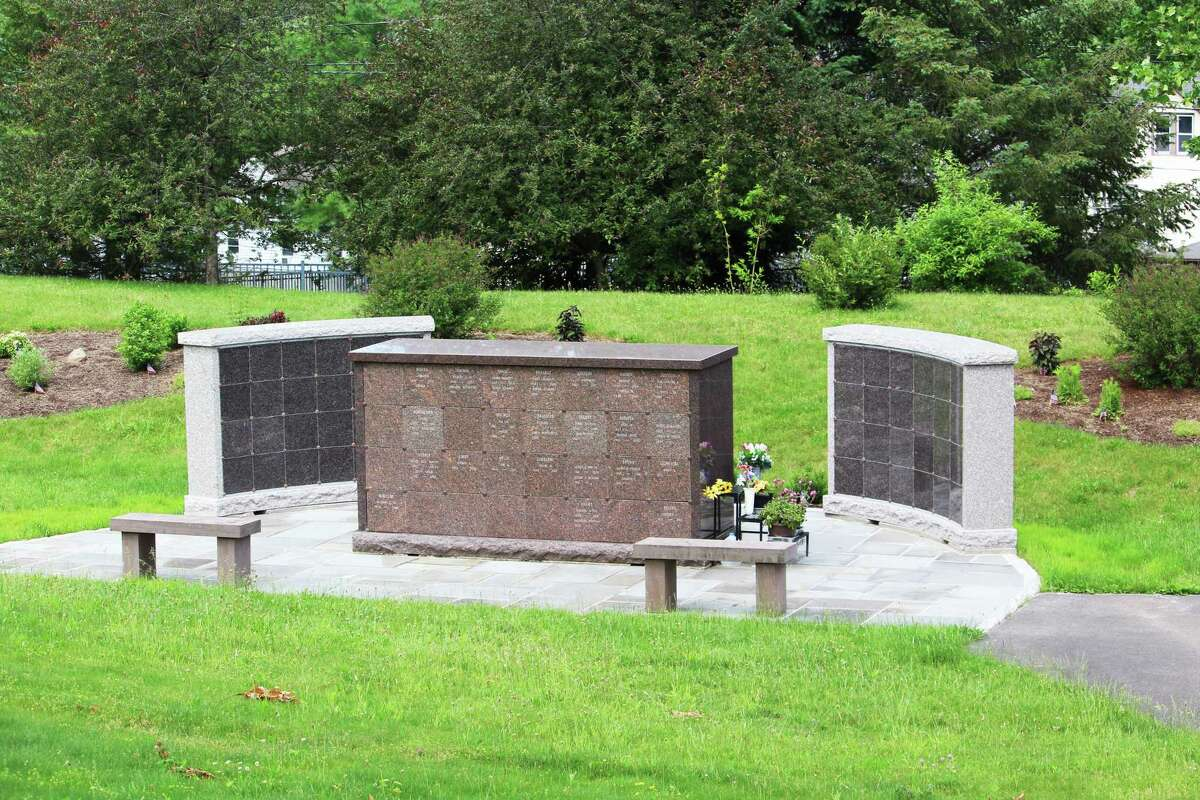 Indian Hill Cemetery, at 383 Washington St. in Middletown, recently completed work on its columbarium - one of only two in the city.