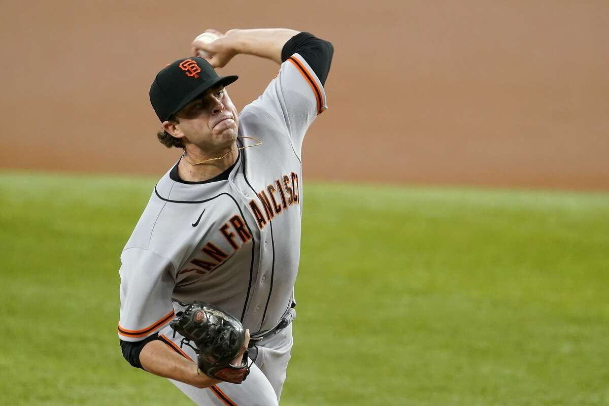 The Giants' Sammy Long made his major-league debut with four impressive innings.