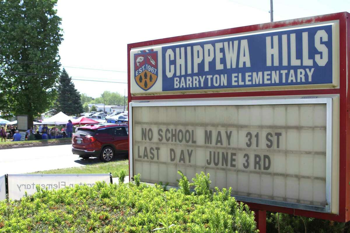 The doors at the original Barryton Elementary building closed for good on June 5 after nearly 90 years of being open. A newly-built elementary school is set to open this fall. (Pioneer photo/Gena Harris)