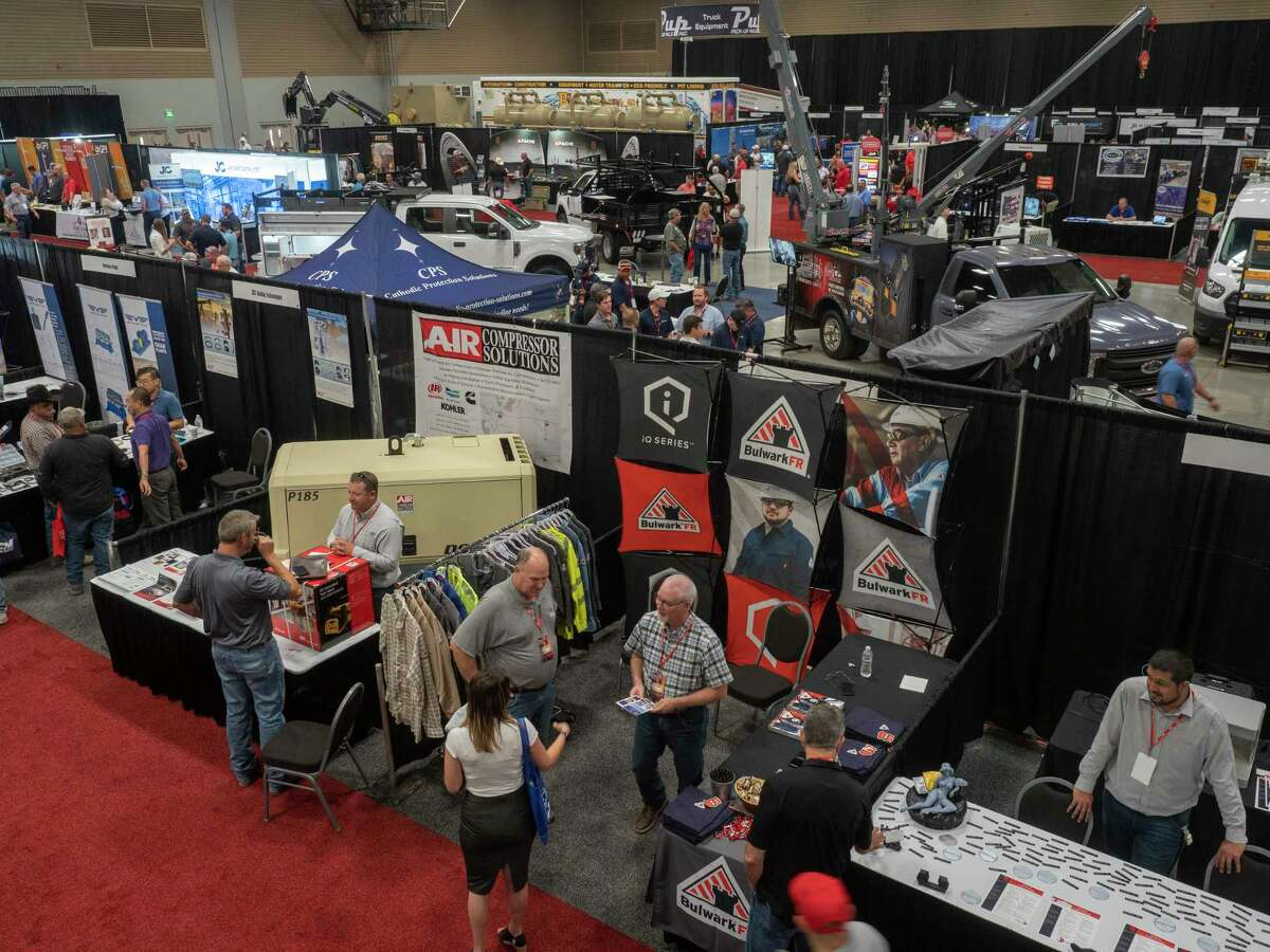 More than 200 companies displayed their products 06/09/2021 at the Shale Energy Conference at the Midland Horseshoe. Tim Fischer/Reporter-Telegram
