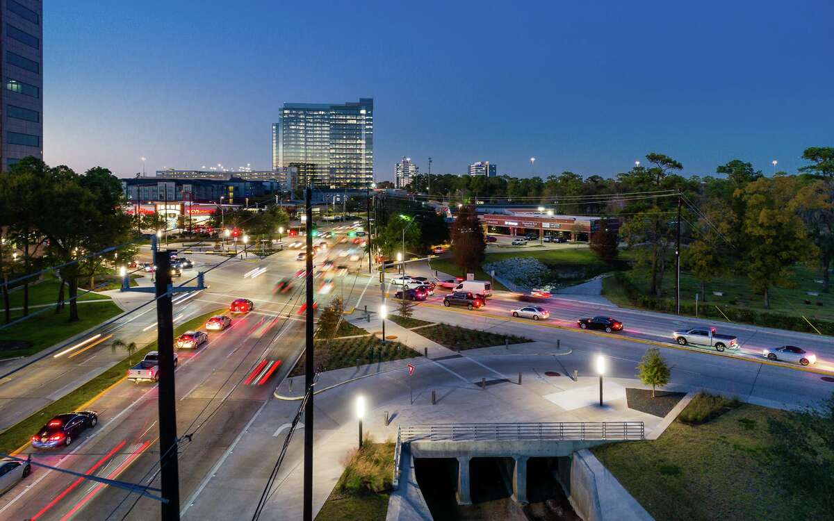 The Energy Corridor District launched west Houston's first pedestrian-protected intersection in Dec. 2020.