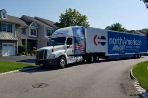 Hackers say they have attacked Arnoff Moving & Storage's computer files.