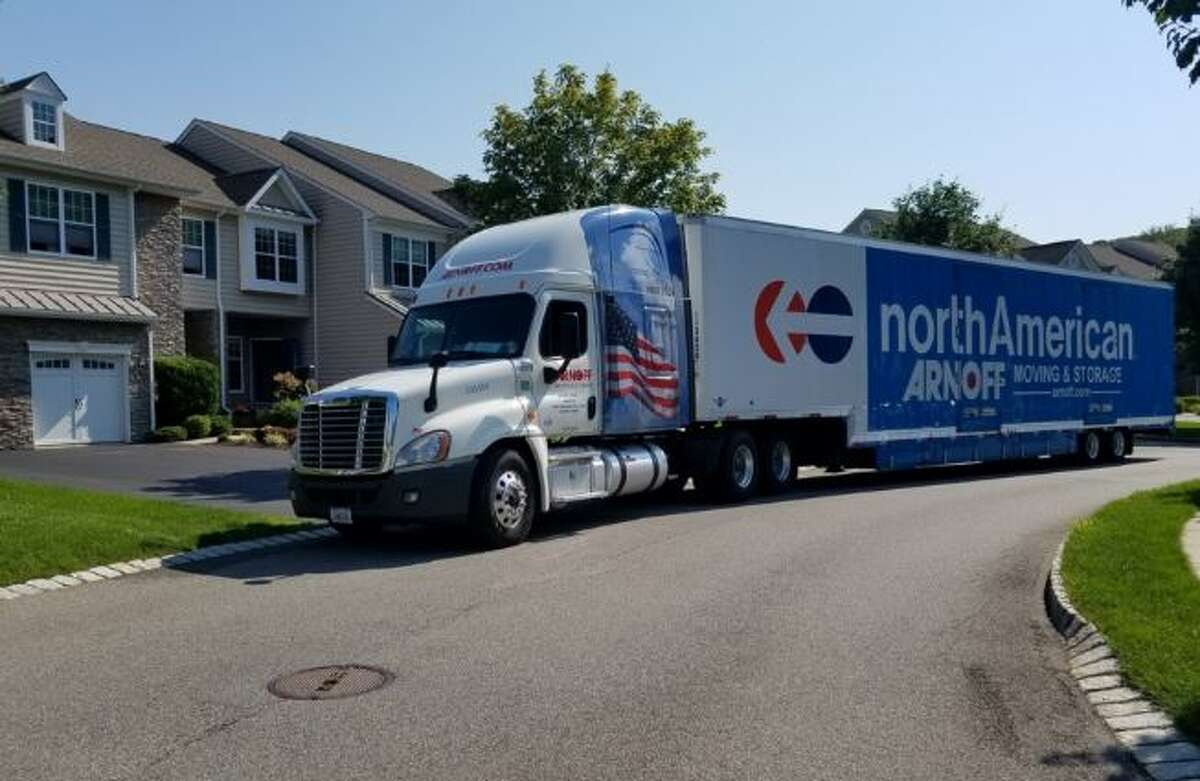 Hackers say they have attacked Arnoff Moving & Storage's computer systems.
