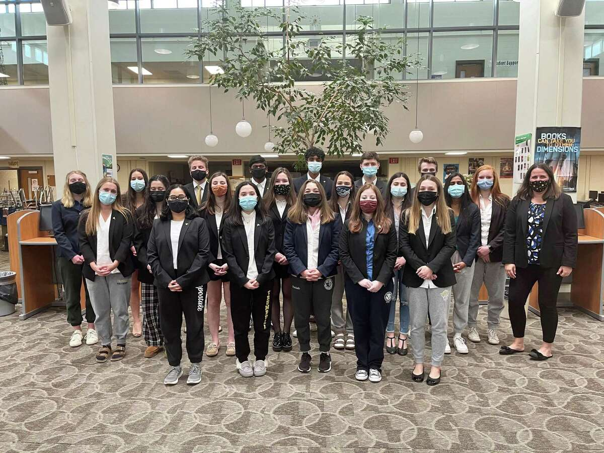 Trumbull High School's We the People team recently placed ninth out of 48 teams at the national competition.