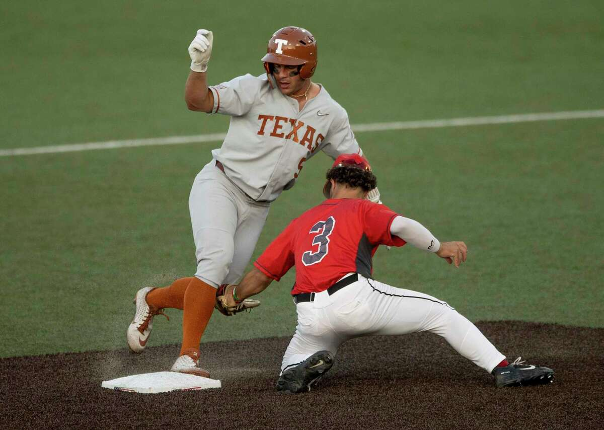 Mike Antico combines patience, speed, high baserunning IQ and fearlessness to give Texas a potent leadoff hitter.