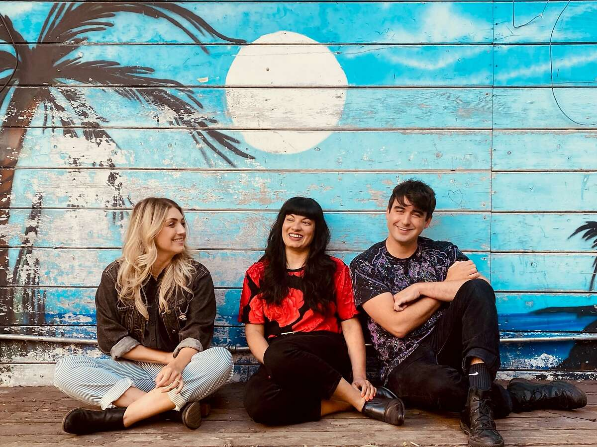 Joanna Ricco (from left), Alicia Griffiths and Sean Mabry will open Mothership, a new bar inside the space that formerly housed Virgil's Sea Room in the Mission.