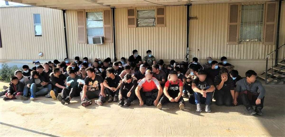 This is one of five stash houses that authorities dismantled over the course of two days. In total, authorities apprehended more than 200 migrants from all the stash houses.