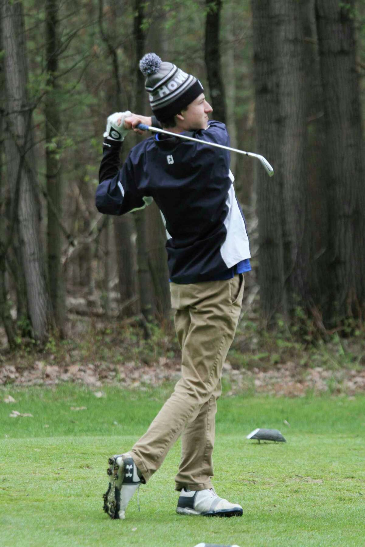 Manistee Catholic Central junior Alex Shriver will play in the Division 4 state finals on Friday and Saturday at The Fortress in Frankenmuth. (News Advocate file photo)