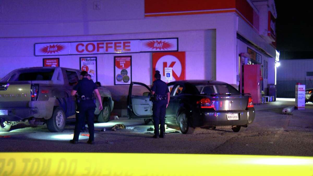 A 35-year-old man was fatally shot Tuesday at a Northwest Side gas station.