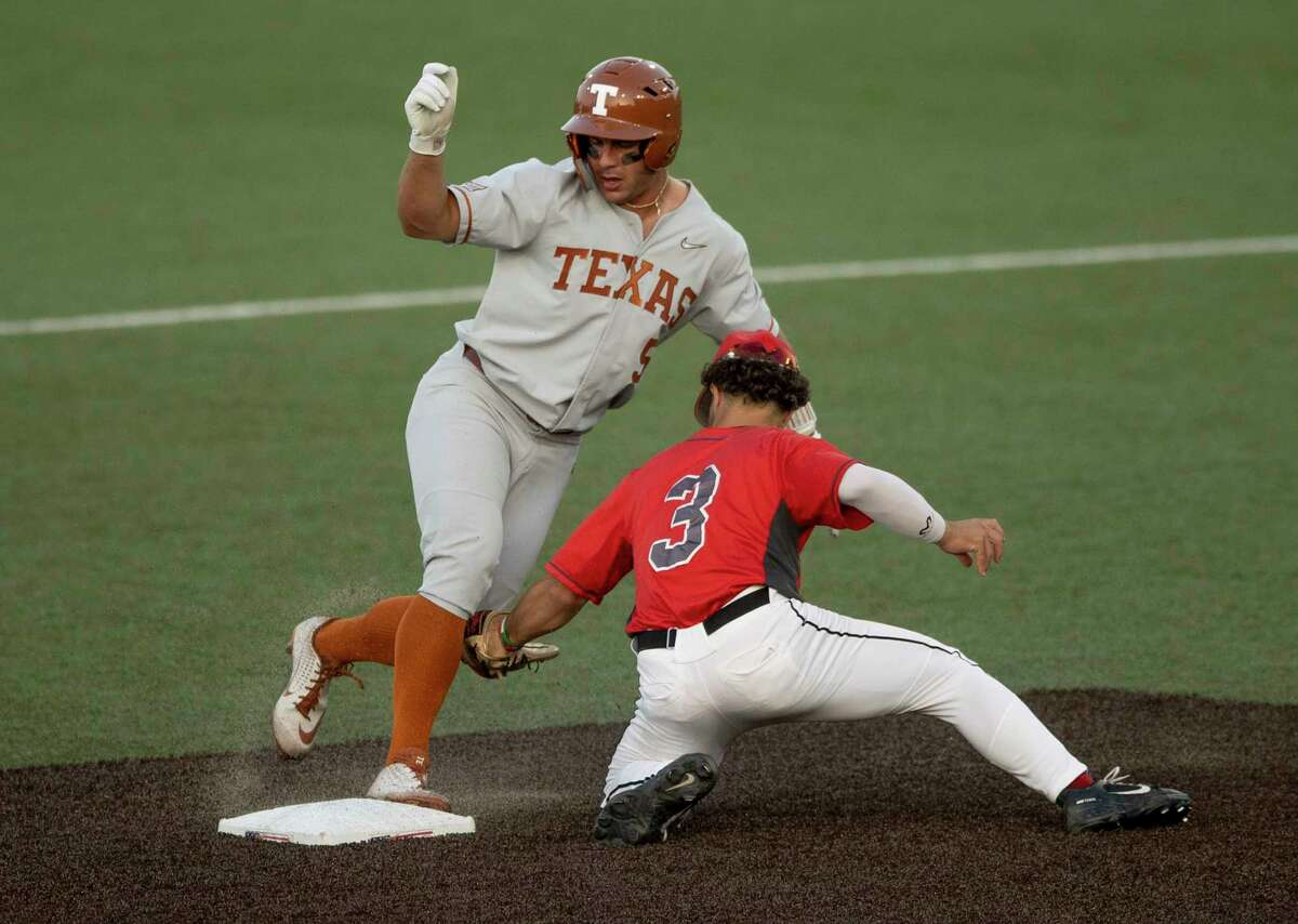 St. John's transfer Mike Antico never planned to end up at Texas. But the center fielder and leadoff hitter has become an essential part of the Longhorns' identity, and he'll continue to play a key role as they chase a national title.