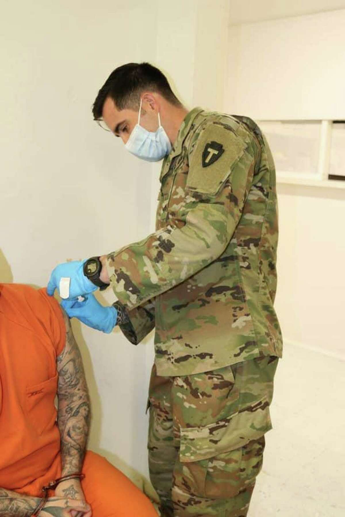 Webb County Jail inmates got their second dose of COVID-19 vaccine.