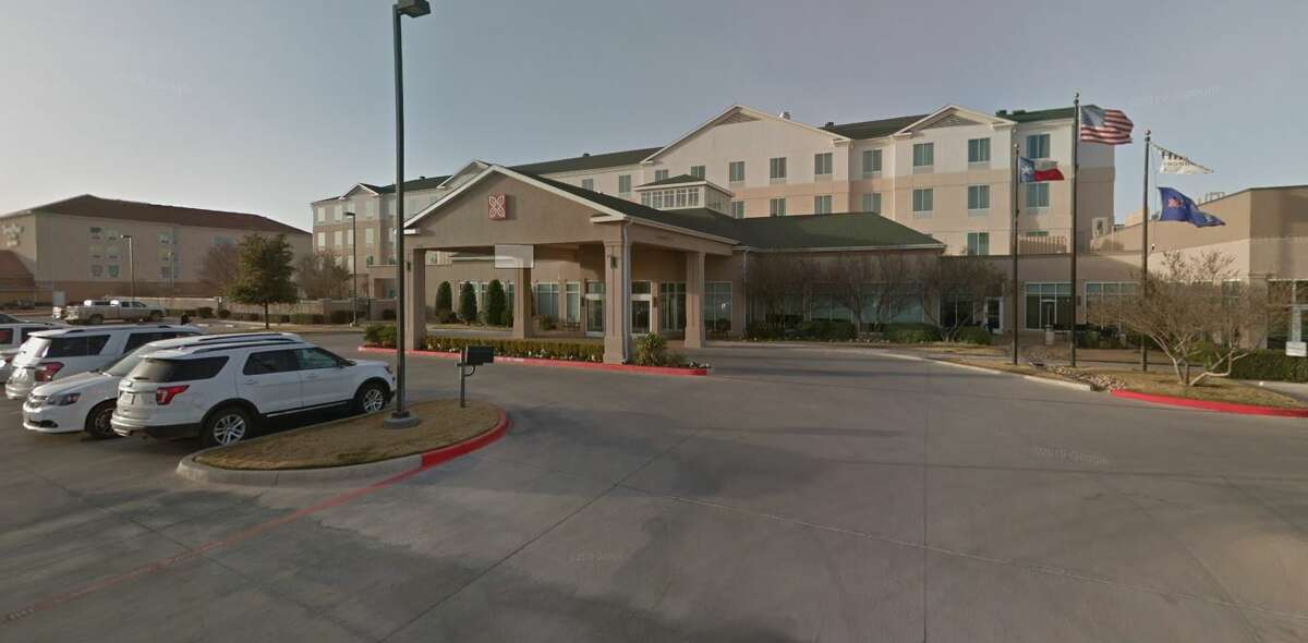 A Houston man staying at the Hilton Garden Inn in Midland says a staff member called the police following a disagreement after he asked for a replacement room key.