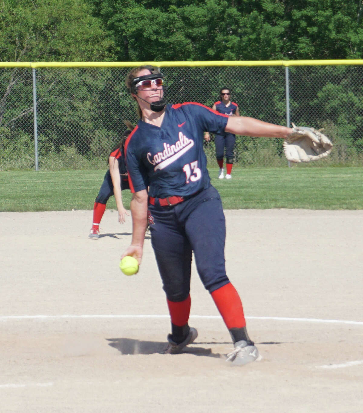 The Big Rapids softball team was defeated 8-2 by Traverse City West on Wednesday afternoon.