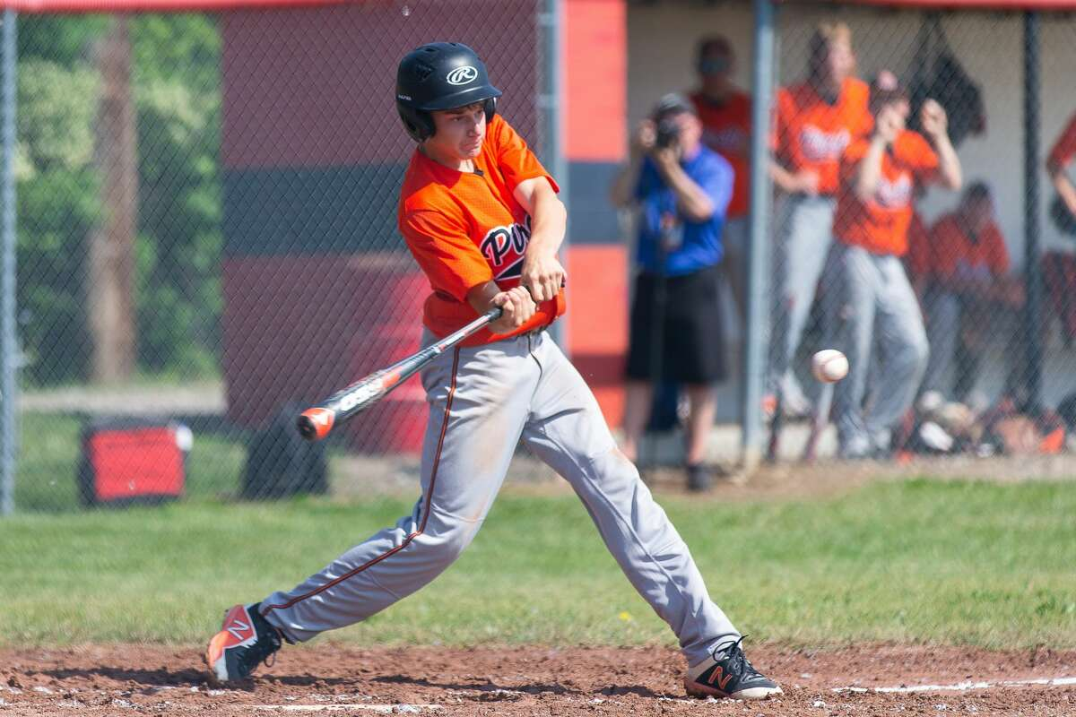 The Harbor Beach varsity baseball team fell to the Marlette Red Raiders, 8-2, at Kingston High School on Wednesday. The Pirates finished the season as district champions with a record of 10-8-1.