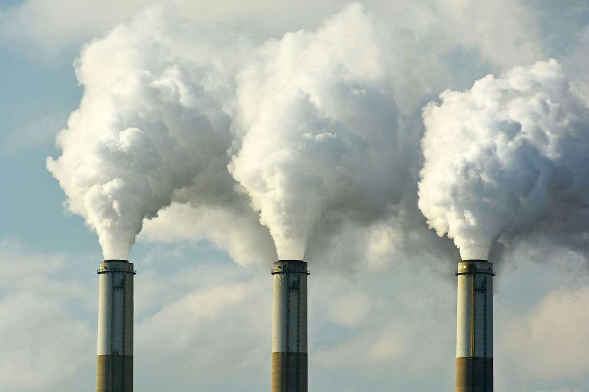The amount of carbon dioxide released by burning fossil fuels is projected to hit 37 billion tons this year, setting another record high. (Dreamstime/TNS)