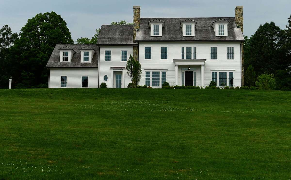 Former Dulos home at 61 Sturbridge Hill Rd Tuesday, June 8, 2021, in New Canaan, Conn.